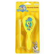 Yellow Brush & Comb -