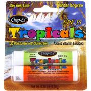 SPF 15 Tropicals Lip Moisturizer Tahitian Tangerine & Key West Lime -
