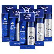 6 Bottles Intimate Options Personal Lubricant Mousse -