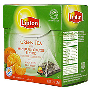 Green Tea with Mandarin Orange -
