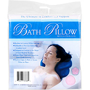 Bath Pillows with Suction Lips -