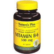 Vitamin B-6 500mg Sustained Release -