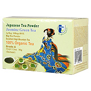 Organic Jasmine Green Tea Powder -