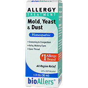 BioAllers Mold Yeast Dust Allergy Relief -