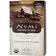 Black Tea Blend Puerh Organic Chocolate Tea  -