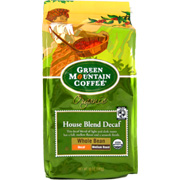 Certified Organic Coffee House Blend Whole Bean Decaf -