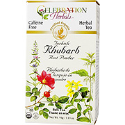 Rhubarb Root Turkish Powd Organic -
