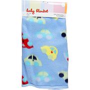 Baby Blanket w/Cars Design -