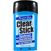 Clear Stick Deodorant Clean Fresh Scent -