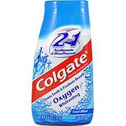 Oxygen Whitening 2 in 1 Toothpaste & Mouthwash -