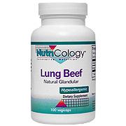 Natural Glandular Beef Lung -