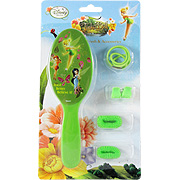 Disney Fairies Green Brush & Accessories -