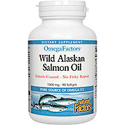 Wild Alaskan Salmon Oil 1000mg Enteric Coated -
