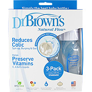 Natural Flow Feeding Standard Polypropylene 4oz Bottle -