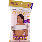 Exfoliating Bath & Shower Back Scrubber Pink -