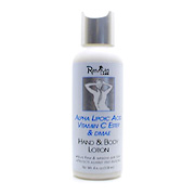 Alpha Lipoic Acid, Vitamin C Ester & DMAE Cream/Hand & Body Lotion -
