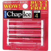 Chap Ice Premium SPF 4 Lip Balm Cherry -
