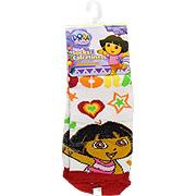 Dora The Explorer Socks Red & White -
