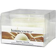 Glass Candle Vanilla -