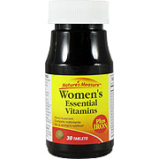 Women's Essential Vitamin Plus Iron -