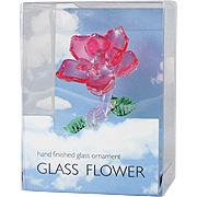 Glass Flower Red -